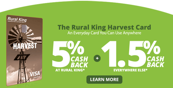The RK Harvest Card - An Everyday Card You Can Use Anywhere - Learn More >