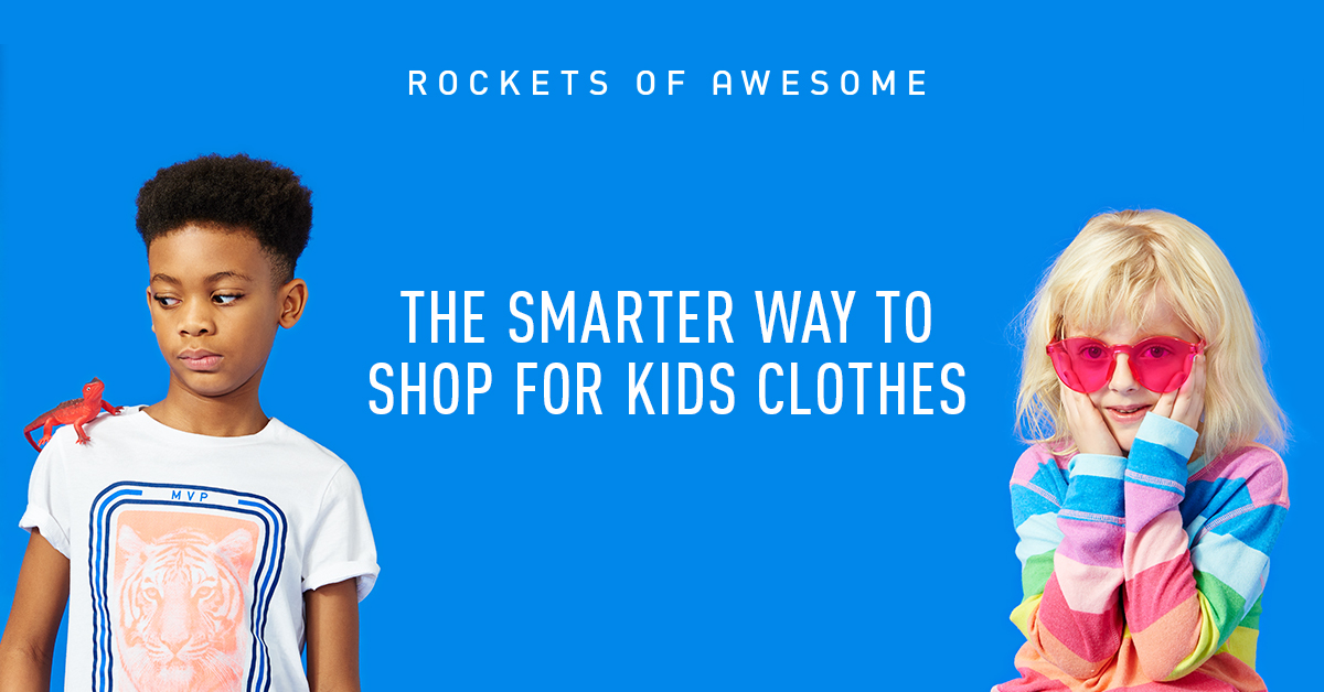 rockets of awesome shopping for kids clothes made simple