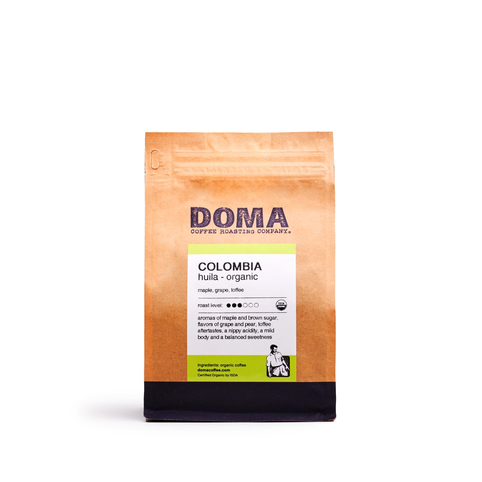 Colombia Huila Organic 2018