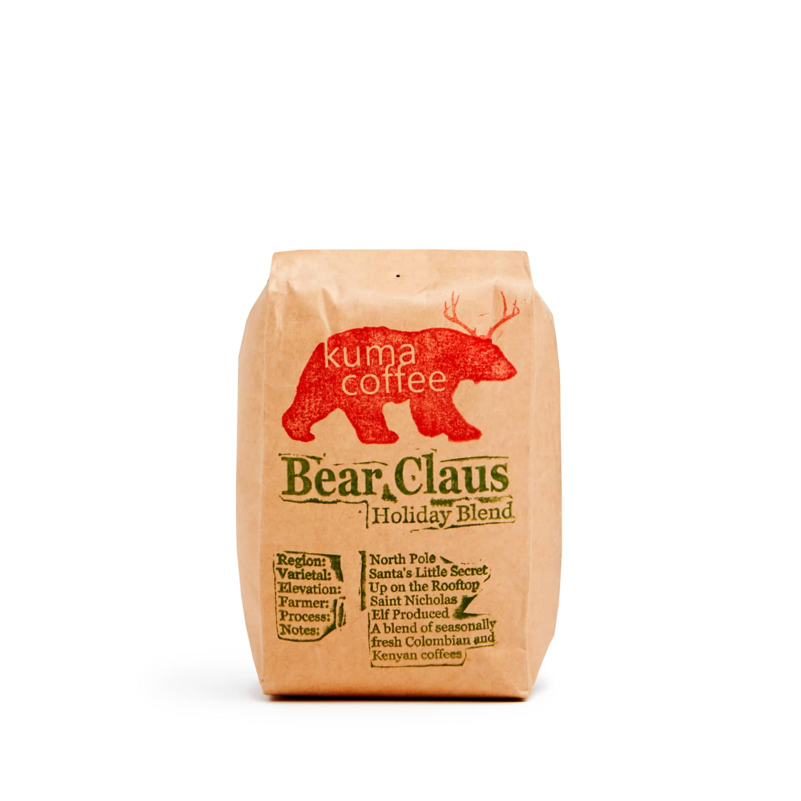 Bear Claus Holiday Blend 2018
