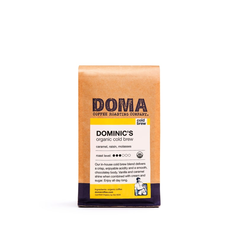Dominic's Organic Cold Brew Blend
