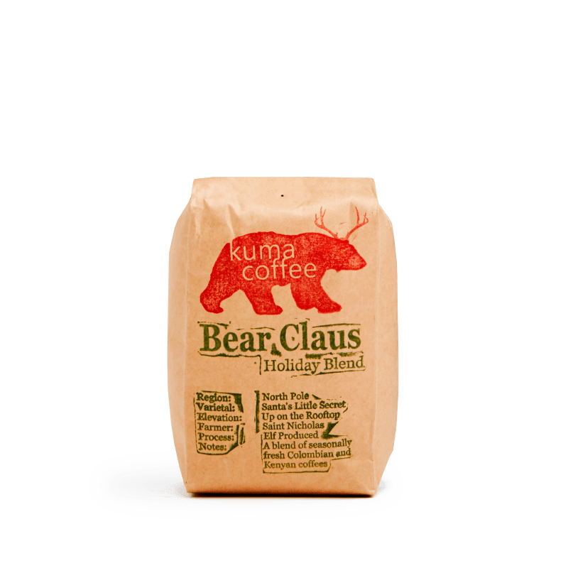 Bear Claus Holiday Blend