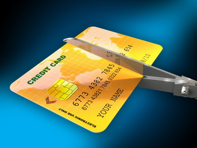 Consider getting rid of your credit card and rather use a debit card