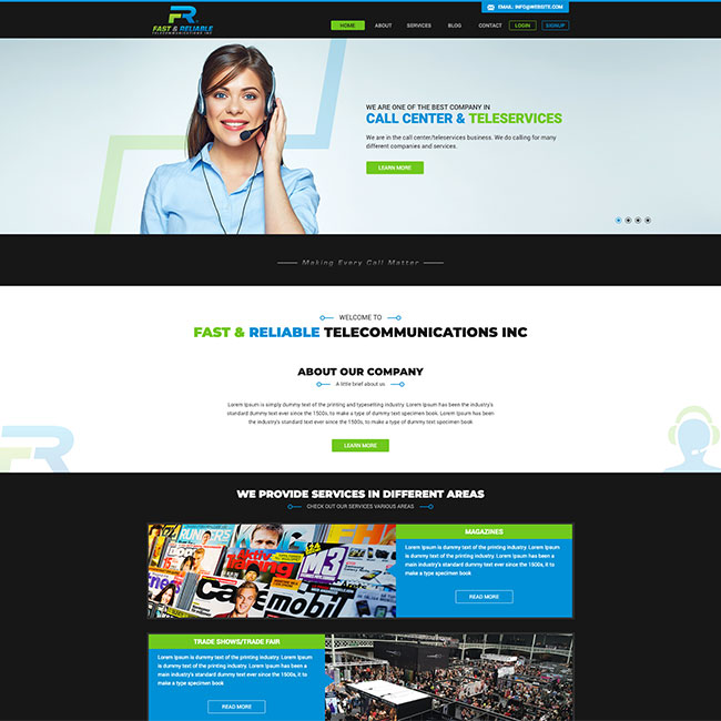 Fast & Reliable Telecommunications Inc