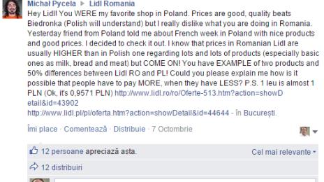 Un polonez despre Lidl România