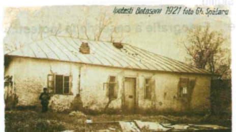 Casa lui Mihai Eminescu de la Ipotești, 1921