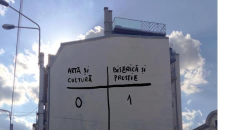Artă și cultură 0 - Biserică și prostie 1