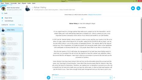 Schemele nigeriene, acum și pe Skype