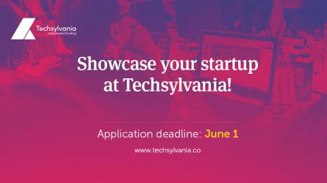 Startup Showcase la Techsylvania