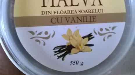 Halva ucraineană din floarea soarelui cu vanilie