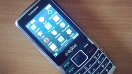 Telefon e-Boda Easy II dual SIM