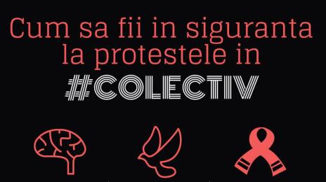 Cum să protestezi în siguranță la #colectiv