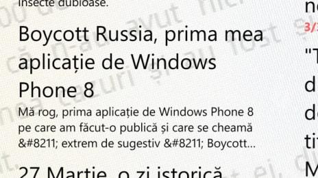Captura de ecran din aplicatia Robintel pentru Windows Phone 8 (2)