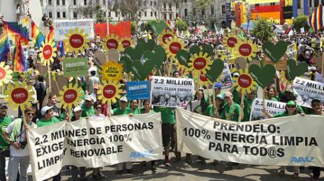 AVAAZ - Marșul Oamenilor Pentru Climă