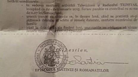 Document despre taxa radio-TV a BOR