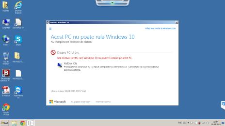 Asus VX6 by poate rula Windows 10 din cauza lui nVidia Ion