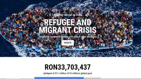 Campania umanitară coordonată de Google pentru refugiați