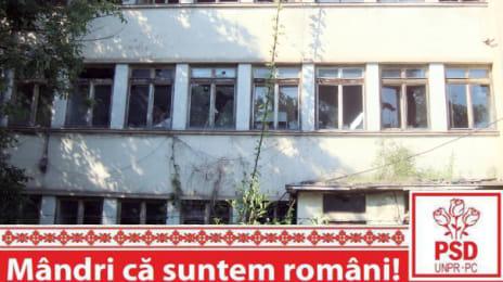 Mândri că suntem români - Ruina unei școli
