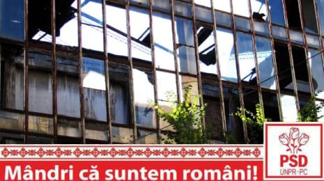 Mândri că suntem români - Ruină industrială la Cluj