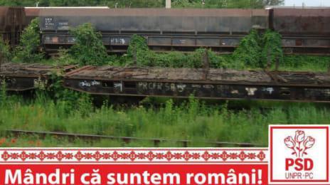 Mândri că suntem români - Cimitirul de vagoane de la Simeria, pentru că nu transportăm marfă ci dosim furtul