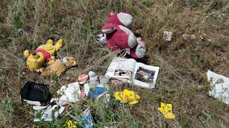 Rămășițe ale zborului MH17