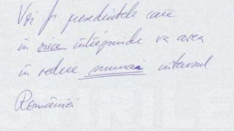 Voi fi președintele care, în orice întreprinde, va avea în vedre numai cetățeanul României. (Klaus Iohannis, 28 Octombrie 2014)
