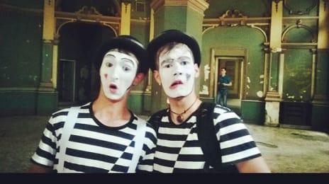 Foarte simpatici băieții de la #fantasmagia, care ne-au însoțit prin #cluj la #openyourcity