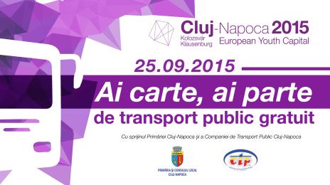 La Cluj a reînceput campania pro-lectură: Ai carte, ai parte (1)