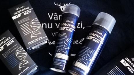 Apropo de @farmec și lansarea gamei #gh3men #gerovital H3 Men, șamponul lor mă ajută să nu-mi mai lățesc chelia...