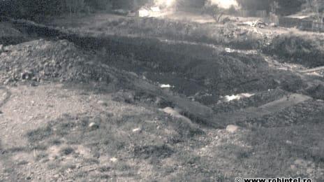 Pârâul Jieț distrus de hoții de piatră, cu complicitatea totală a autorităților locale (2009)