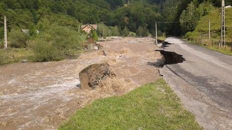 Inundații pe Jieț, 29 Iulie 2014, efectele inundației