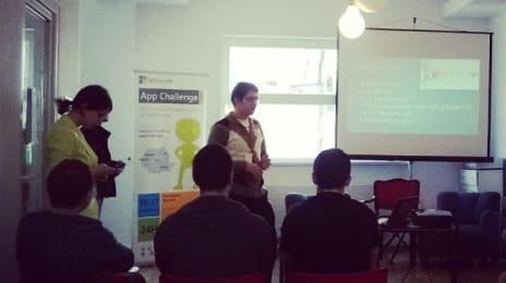 Timotei Dolean, câștigătorul ediției precedente de la #appchallenge #cluj #2012