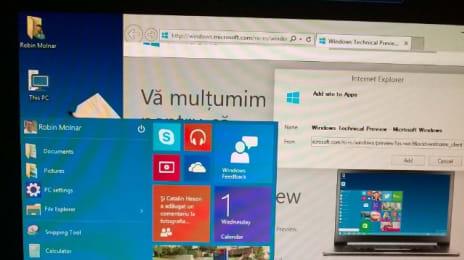 Acum poți adăuga un site ca pe-o aplicație în meniul de #Start din #Windows 10