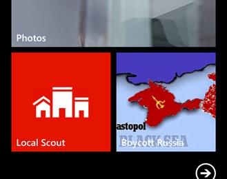 Iconița medie de Start a aplicației Boycott Russia