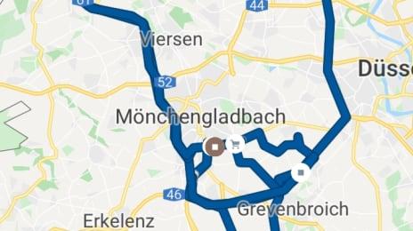 Traseul meu de Sâmbătă, 9 Noiembrie 2019, la Voluntari în Europa