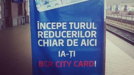 Există city card la Cluj, de la BCR