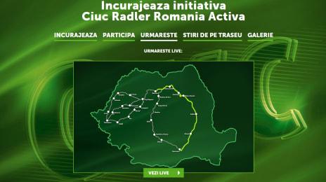 Traseul Ciuc Radler România Activă