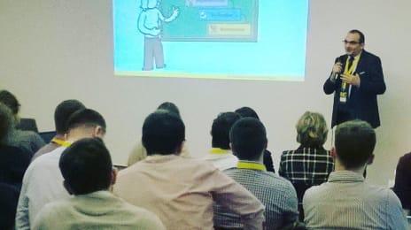 Colegul Dan Suciu, Director of Training la @3pillarglobal vorbește despre Agile la #cluj #itdays