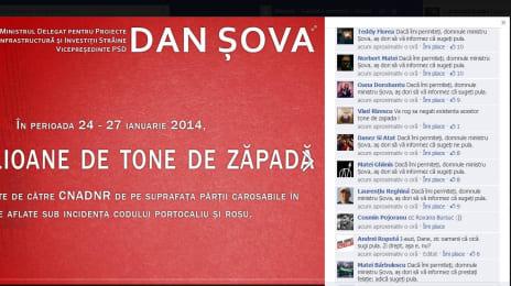 Dacă îmi permiteți, domnule ministru Șova, as dori să vă informez ca sugeți