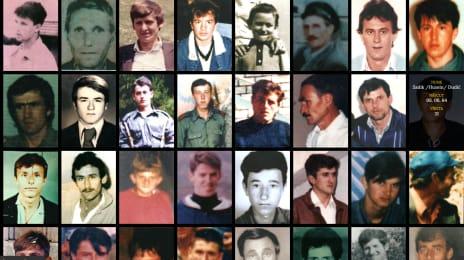 Câteva dintre victimele masacrului de la Srebrenica