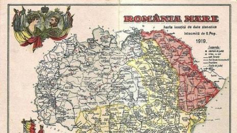 Harta României Mari (1919), actualmente o utopie contra-productivă și dătătoare de război