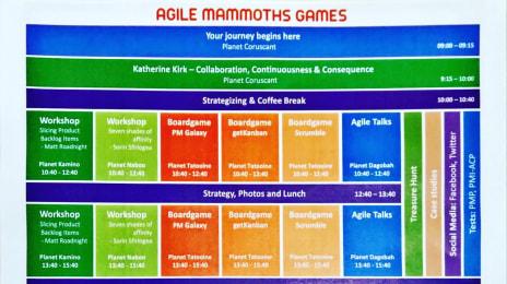 Programul meu pe astăzi la #AMG2016Cluj