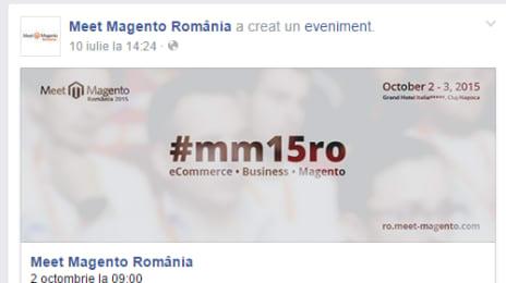 Meet Magento , pe Facebook