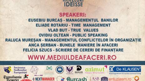 Afiș Mediul de Afaceri, Cluj, Martie 2015