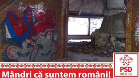 Mândri că suntem români - Ruinele Cabanei Brădet Petroșani