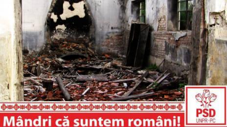 Mândri că suntem români - Ruine industriale la Roșia Montană