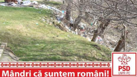 Mândri că suntem români - Gunoaie aruncate neglijent la Straja Telescaun