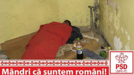 Mândri că suntem români - Aurolac dormind sub o plapumă roșie