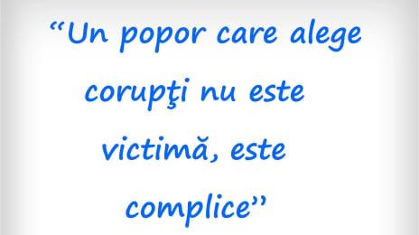 Un popor care alege corupți nu este victimă, este complice - Petre Țuțea