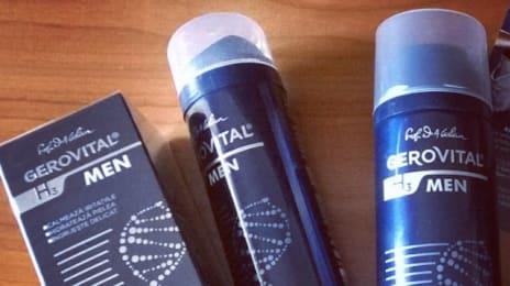 Astăzi @farmec a lansat gama de produse #Gerovital H3 pentru bărbați. Beton.#gh3men